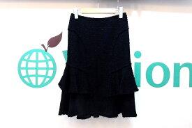 EPOCA(エポカ) ウール ツイードスカート 38 黒