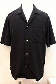 STUDIOUS 半袖シャツ メンズ 3 ブラック
