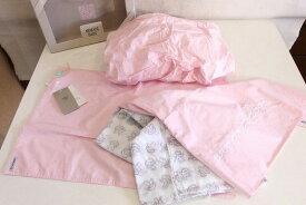ARMANI BABY シーツ・ボックスシーツ・枕カバー ピンク