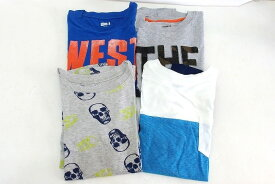 クレイジーエイトCRAZY8 プリント 半袖Tシャツ 4点セット L(10-12)