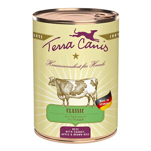 Terra Canis 犬用 ドッグフード テラカニス クラシック ビーフ 玄米入り [400g] 小型犬用/中型犬用/大型犬用 子犬用/成犬用/高齢犬(シニア犬)用 天然成分100% 無添加 dog visions
