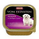 【ドイツ産ドッグフード】 アニモンダ フォム ファインステン シニア 【鳥肉・牛肉・豚肉・子羊肉】老犬用 (ウェットタイプ 缶詰)[150g]   animonda   dog visions