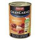 【ドイツ産ドッグフード】 アニモンダ グランカルノ アダルト【牛肉と鶏肉】成犬用 (ウェットタイプ 缶詰)[400g] | animonda | dog visions