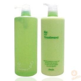 (RS1020) (RT1020) アジュバン Re: シャンプー&トリートメントセット (リ シャンプー) 30mL/38g ( ADJUBANT 正規品 ダメージヘア ヘアケア shampoo treatment しっとり サラサラ 硬毛 くせ毛 美容室 サロン専売品 リ シリーズ Re: series )