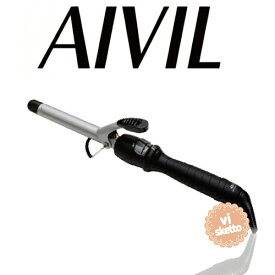アイビル DHセラミックアイロン 12mm(正規品 AIVIL カールアイロン コテ 美容室 美容専売品 ロングセラー カール 巻き髪 DH CERAMIC IRON)