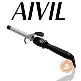 アイビル DHセラミックアイロン 16mm(正規品 AIVIL カールアイロン コテ 美容室 美容専売品 ロングセラー カール 巻き髪 DH CERAMIC IRON)