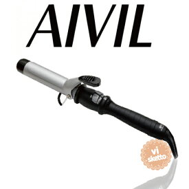 アイビル DHセラミックアイロン 32mm(正規品 AIVIL カールアイロン コテ 美容室 美容専売品 ロングセラー カール 巻き髪 DH CERAMIC IRON)