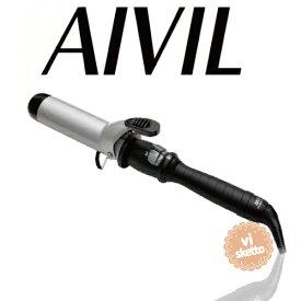 アイビル DHセラミックアイロン 38mm(正規品 AIVIL カールアイロン コテ 美容室 美容専売品 ロングセラー カール 巻き髪 DH CERAMIC IRON)