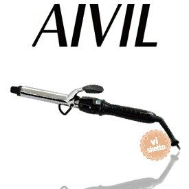 アイビル D2アイロン チタンバレル 25mm(正規品 AIVIL カールアイロン コテ 美容室 美容専売品 ロングセラー カール 巻き髪 DH CERAMIC IRON)