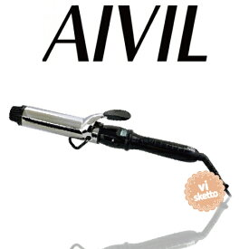 アイビル D2アイロン チタンバレル 38mm(正規品 AIVIL カールアイロン コテ 美容室 美容専売品 ロングセラー カール 巻き髪 DH CERAMIC IRON)