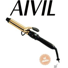 アイビル D2アイロン ゴールドバレル 32mm(正規品 AIVIL カールアイロン コテ 美容室 美容専売品 ロングセラー カール 巻き髪 DH CERAMIC IRON)