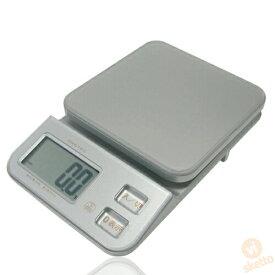 ドリテック クリスタルスケール KS-121SV 1kg(電子スケール デジタル 計り 料理 おかし作り 単3電池付)