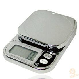 ドリテック コンパクトスケール KS-209 2kg(電子スケール デジタル 計り 料理 おかし作り 単3電池付)