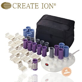 CREATE ION クレイツ イオン ホットカーラー プロ CIH-W12 クレイツイオン ホットカーラプロ CIH-W12 12本スタンド CREATE ION カール イオン加工)