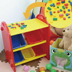 トイボックス S 100pcsブロック付 (収納 おもちゃ箱 おもちゃ 子供部屋 キッズ カラフル 簡単 かわいい 不二貿易 ギフト クリスマス)