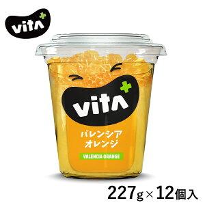 【公式】 2ケース以上送料無料 ビタプラス VITA VITA+ バレンシアオレンジ シロップ漬け 227g 12個入 フルーツ スイーツ まとめ買い ビタミンC