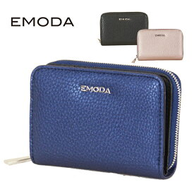 【EMODA】【エモダ】 EM-9770 ミニ財布 二つ折り ファスナー スナップ