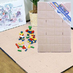 【お風呂マット】【GR-006 ジョイントスノコ 1P ベージュ (1枚入)】たてよこ自由に繋がります!浴室スノコやキッチンマット、玄関マット、プールサイド、お子様の遊戯スペースなどに。