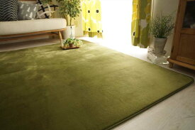 ラグ カーペット 3畳 洗える 洗濯できる さらさら無地のフランネルラグ 約190x240cm ノーマルタイプ 【送料無料】【smtb-TD】【saitama】