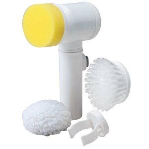 コードレスお掃除ブラシ 電動ブラシ 床磨き 風呂掃除 スポンジ 3月下旬出荷予定