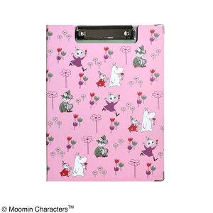 MOOMIN ムーミン クリップボー ドFlower garden ピンク ST-ZM0152 キャラクター 文具 事務用品 かわいい おすすめ【クリックポスト】メール便【送料無料】【smtb-TD】【saitama】