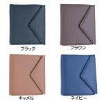 二つ折り財布メンズレディースLUV-3300ブラックブラウンキャメルネイビーLUCIANOVALENTINO(ルチアーノバレンチノ)【クリックポスト】メール便