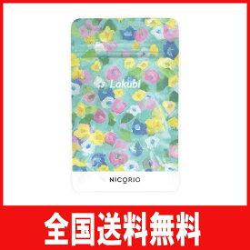 【送料無料】Lakubi ラクビ 酪酸菌 ビフィズス菌 オリゴ糖 サラシアエキス 植物性キトサン 31粒 1ヶ月分1袋