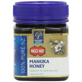 マヌカハニーMGO400+(UMF20+)250g非加熱・アクティブUMFだから違う!ニュージーランド製 マヌカヘルス社