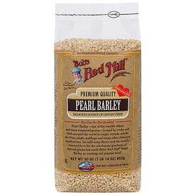 即納 うるち大麦 もち麦 850g コーシャー認定ナチュラルもち麦 大容量 Bob's Red Mill社(ボブズレッドミル)スーパーパワーを秘めた全粒Pearl Barley 腸内フローラを元気に ビーガンやベジタリアンの方に日本人に不足しがちな食物繊維たっぷり お一人様2個まで