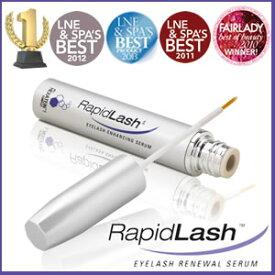 ロカスバ ラピッドラッシュ 3.0ml(約4カ月分)≪まつ毛美容液≫1日1回塗るだけの究極のまつ毛美容液!自然でボリュームたっぷり♪濃く長いまつ毛で目ヂカラUP!RapidLashラピッドラッシュ アイラッシュ美容液