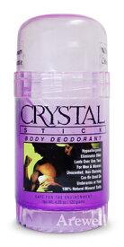 クリスタルデオドラント 直塗りタイプ 120g乳がんの原因と考えられているアルミニウムフリーの安心デオドラント。1日1回でさらさらワキ(脇)をキープ。無香料、パラベンフリー、天然素材(ミョウバン)。男女兼用(男性用、女性用、メンズ、レディース)制汗剤