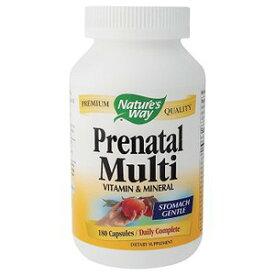 プレママさんと赤ちゃんの健康をしっかりサポート!妊婦用マルチビタミン&ミネラル 180カプセルNature's Way / ネイチャーズウェイ