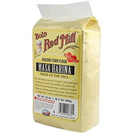 とうもろこし粉 680g Bob's Red Mill社(ボブズレッドミル)石臼で丁寧に挽いたトウモロコシフラワートルティーヤ、タマリ、ポレンタ、パン作りにも◎きめ細かく、米粉など他の粉類と混ざりやすいコーンフラワーMasa Harina