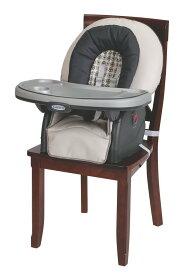 【送料無料】Graco グレコ 子供用ハイチェア ブロッサム4in1(1台で4役) ローチェア兼用 安全ベルト・テーブル付きフカフカ背もたれリクライニング&椅子の高さと足置きの高さ調整可能(Vanceバンス)