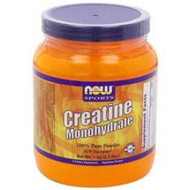 クレアチン モノハイドレート 粉末(パウダー) 1kg(1000g)×1本アスリート御用達。筋力増量、筋力増強、筋力アップ、瞬発力アップに。アミノ酸の吸収を考えるならクレアチンパウダー、クレアチン粉末。100%クレアチンモノハイドレートnow foods(ナウフーズ社)