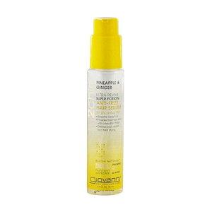 ジョバンニ(GIOVANNNI) ウルトラリバイブ ヘアセラム 81mlパイナップルとショウガのエキスが紫外線による乾燥ダメージから髪を守りながら、潤いと輝きを与える髪用美容液。ハリとコシを与
