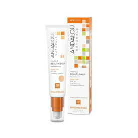 アンダルー・ナチュラルズ(ANDALOU NATURALS) 化粧下地 兼 モイスチャライザー Sheer Tint(シアーティント) 58mlスーパーフルーツたっぷり植物性。ビタミンC成分が豊富なブライトニングBB。保湿力が高い肌を作ります。天然由来の紫外線反射剤を使用 (SPF30)