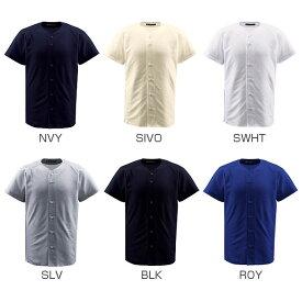 デサント DESCENTE メンズ レディース 半袖Tシャツ ウェア フルオープンシャツ DB-1010 db-1010