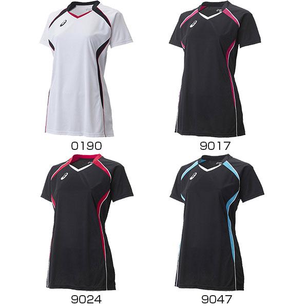 アシックス asics レディース 半袖Tシャツ バレー W'SゲームシャツHS XW1317