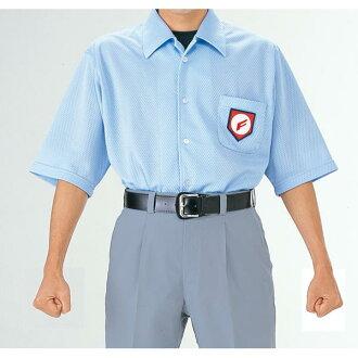 供Ss Pharmaceutical K棒球SSK人分歧D棒球服裝裁判員服裝審判使用的網絲襯衫UPW014