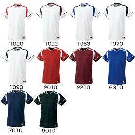 エスエスケイ野球 SSK メンズ レディース 野球ウェア 2ボタンプレゲームシャツ BW2200