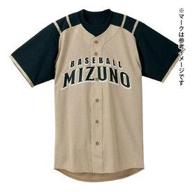 ミズノ Mizuno メンズ シャツ 北海道日本ハムファイターズ型 オープンタイプ メッシュ ビジター 野球ウェア ユニフォームシャツ 52MW082
