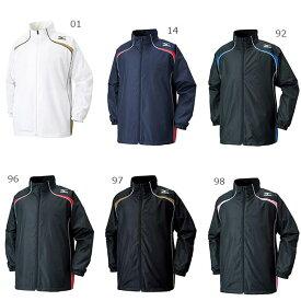 【送料無料】 ミズノ Mizuno メンズ レディース ウインドブレーカー 防風 トレーニングウェア 長袖ジャケット ウィンドブレーカーシャツ W2JE6501