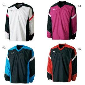 【送料無料】 ミズノ Mizuno メンズ レディース ウィンドブレーカーシャツ テニス バドミントンウェア 長袖 上着 トレーニング スポーツウェア 62JE7001