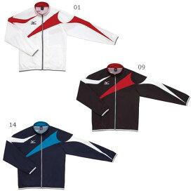 【送料無料】 ミズノ Mizuno メンズ レディース ジャージ 長袖ジャケット トレーニングクロスシャツ N2JC7001