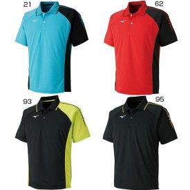 【送料無料】 ミズノ Mizuno メンズ レディース ジュニア ゲームシャツ テニス バドミントンウェア ポロシャツ 半袖 62JA8015
