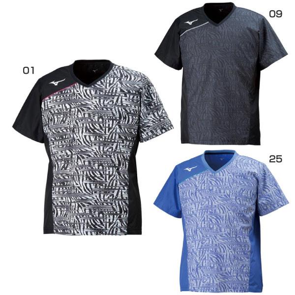 ミズノ Mizuno メンズ レディース ブレーカーシャツ バレーボールウェア 半袖 トップス V2ME8002
