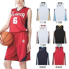 【送料無料】 3S-2XO コンバース CONVERSE レディース ジュニア ゲームウェア ゲームシャツ バスケットボールウェア トップス タンクトップ ノースリーブ 単品 上 CB381701