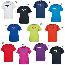 ミズノ Mizuno ジュニア キッズ Tシャツ トップス 半袖 スポーツ トレーニング ロゴ 吸汗速乾 32JA8155