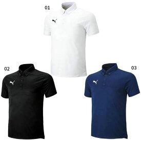 6f2022ac4eb48 プーマ PUMA メンズ SS ポロシャツ サッカーウェア フットサルウェア トップス ポロシャツ 半袖 656336